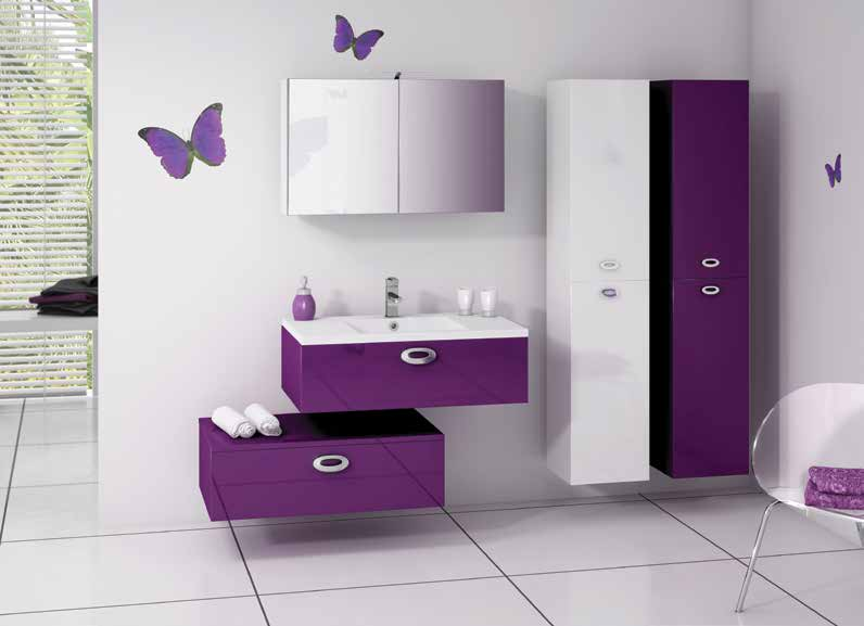 model de salle de bain moderne. Black Bedroom Furniture Sets. Home Design Ideas