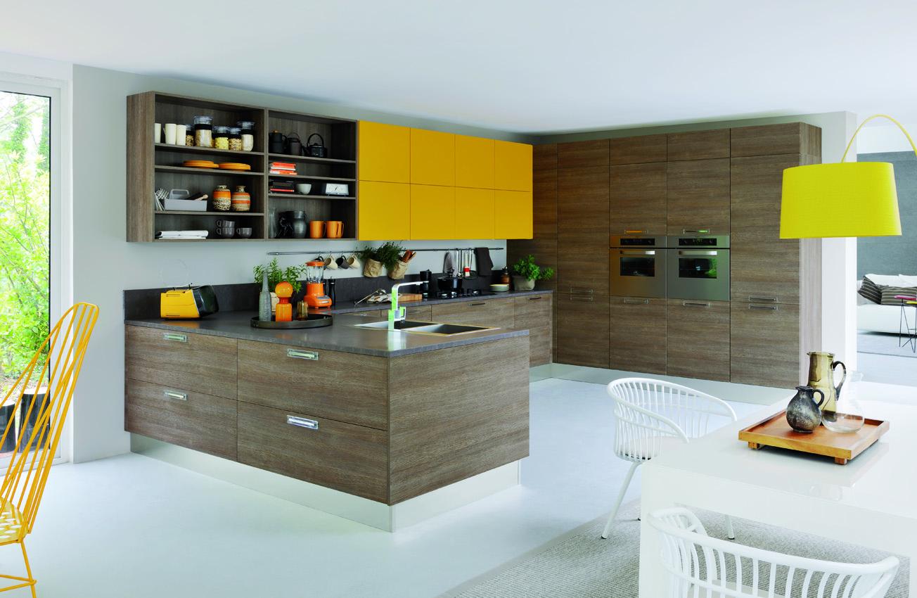 modele cuisine noir laque avec des id es int ressantes pour la conception de la. Black Bedroom Furniture Sets. Home Design Ideas